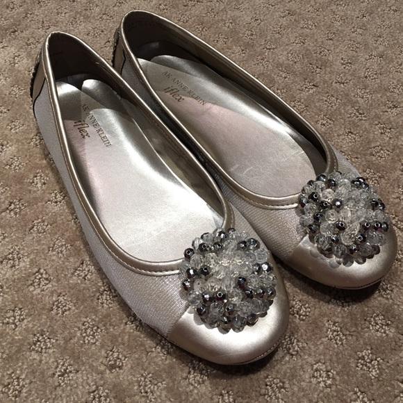 bd64c2b4ca2 Anne Klein Shoes - Gold Anne Klein iflex flats