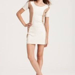 Surface to Air Dresses & Skirts - Surface to Air Jersey Paneled Cotton Dress