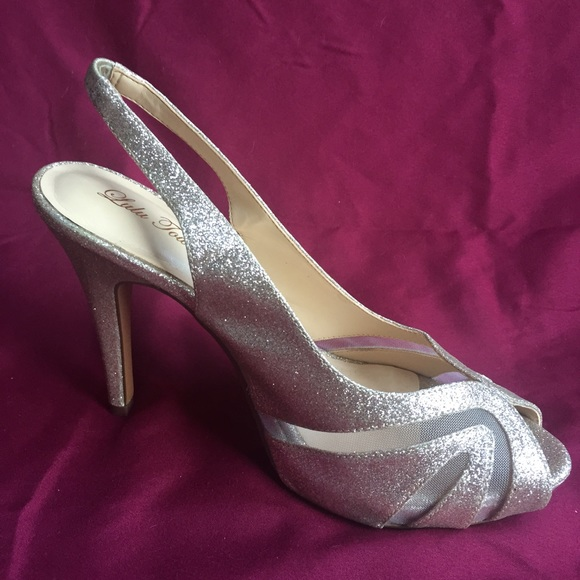 4ca2d1b220c Lulu Townsend Shoes - Lulu Townsend Champagne Natasha heels