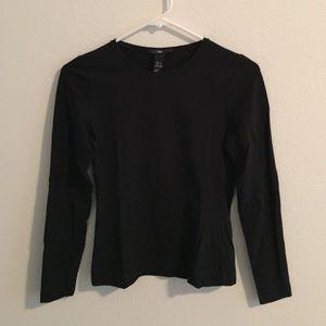 H&M Tops - H&M stretchable black tee