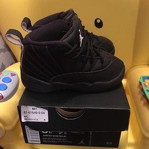 Jordan Shoes - Jordan retro 12 MASTERS toddler size 8