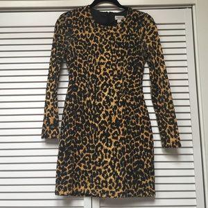 Rodarte for Target Dresses & Skirts - Rodarte for Target leopard lace longsleeve mini