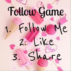Follow Game! Let's grow our closets! New Followers