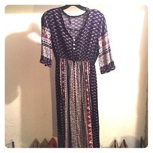 Cute bohemian summer dress!