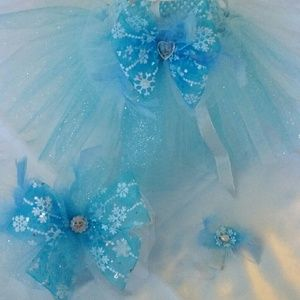 Dresses & Skirts - Handmade Frozen tutu and headband