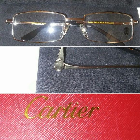 480f2e314583 Cartier Other - 🎅Cartier Platinum eyeglasses