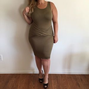 Dresses & Skirts - Sexy Army Green Dress*