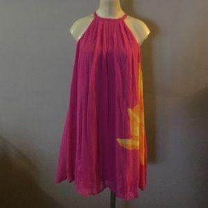 Express- fuchsia hot pink dress