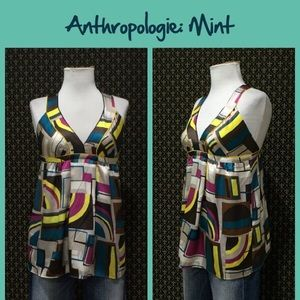 "Anthro ""Dimensions Blouse"" by Mint"