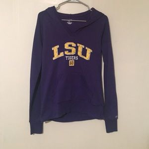 LSU Tigers women's hoodie
