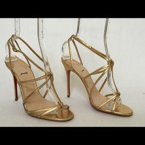 christian louboutin indiana sling sandals