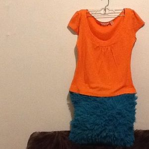 Adorable orange blouse