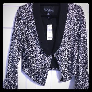 Buckle Jackets & Blazers - Sequin blazer.