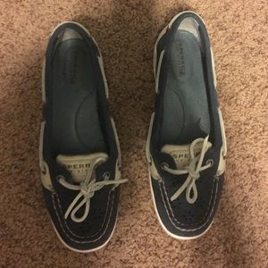 Sperry Top-Sider Shoes - Sperry's top sider blue boat shoes
