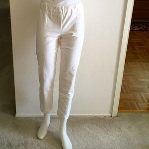 The Row Denim - THE ROW White Cotton Denim Legging Sz L
