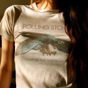 ISO Rolling Stones Tour Americas 1975 Tee Shirt