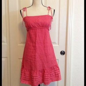 GUESS Dress Summer Women's Coral  EUC Size 7