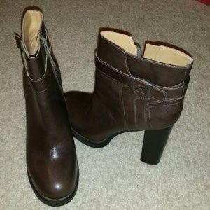 Brown Nine West Boot