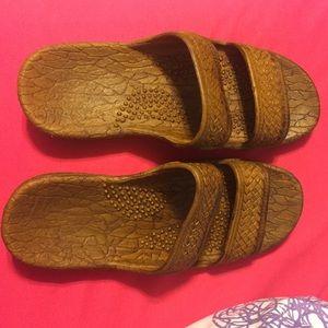 Palm Beach rubber sandals