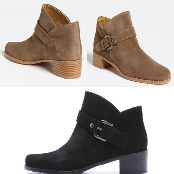 Stuart Weitzman Suede Buckle Ankle Boots discount marketable extremely online cheap tumblr enjoy cheap price zuP4C7