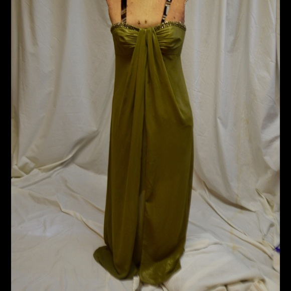 Davids Bridal Dresses Olive Green Formal Dress Poshmark