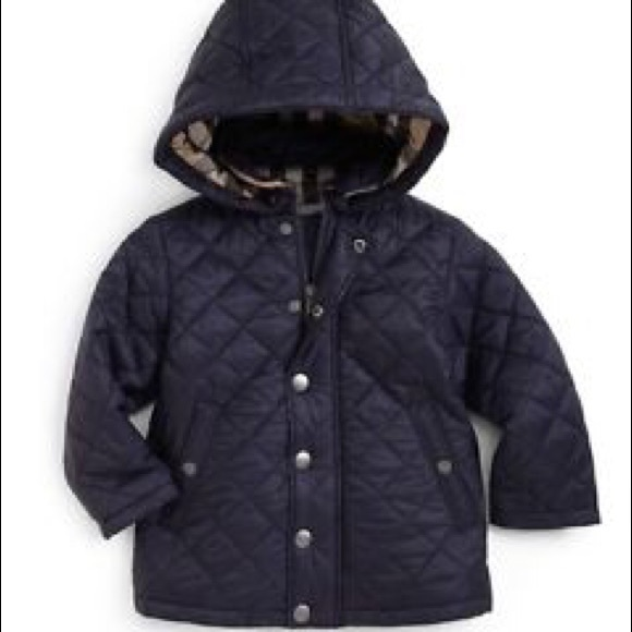 Burberry Jackets Coats Baby Boys Jerry Quilted Jacket 12 Months