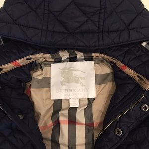 48fa1bf9c805 Burberry Jackets   Coats - Burberry Baby Boys Jerry Quilted Jacket