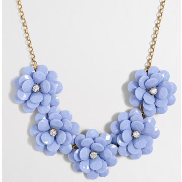 873aa21ebdeaf1 J. Crew Factory Jewelry | J Crew Factory Crystal Floral Burst ...