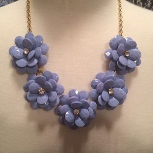 cd088f626ad94f J. Crew Factory Jewelry - J Crew Factory Crystal Floral Burst Necklace