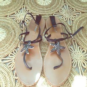 Strappy resort wear sandals