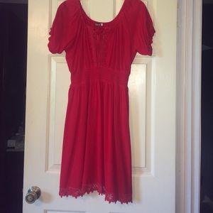 Earthbound Trading Co Dresses & Skirts - Little RED Dress