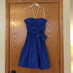 ***SALE!!***Calvin Klein strapless taffeta dress