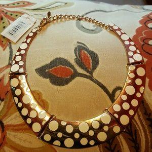 Jewelry - Gold/White Choker Necklace