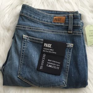 Anthropologie Denim - Paige verdugo ankle transcend skinny