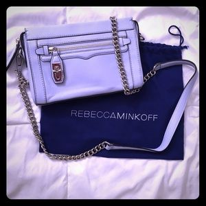 Rebecca Minkoff Crosby Crossbody bag baby blue