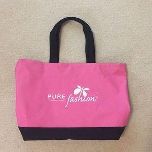 Handbags - Large Pink Tote Bag - Pure Fashion