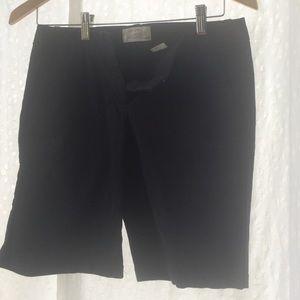 J.Crew Black Bermuda Shorts