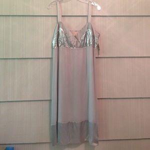 Michael Kors Silver Sequin Dress