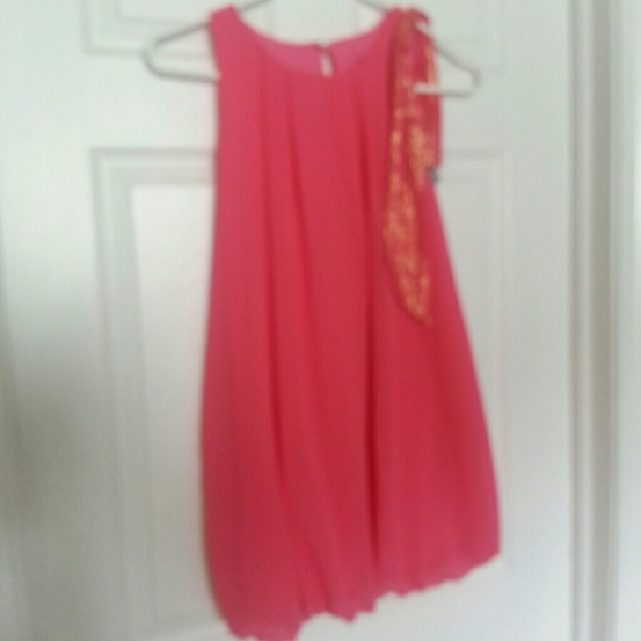 86% off Other - Kids size 14/16 pink bubble dress from Maddy&39s ...