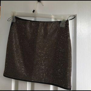 Black forever 21 skirt size M