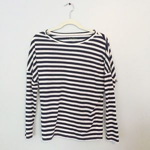 Lilly Pulitzer long-sleeved, striped T-shirt