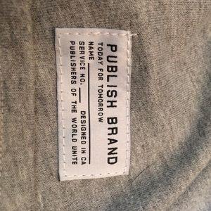 Publish Pants - Publish Brand Grey joggers