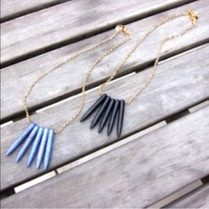 Jessica Elliot Jewelry - ✨Gold-plated Spike Statement Necklace w/ gift box