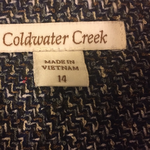Coldwater Creek Jackets & Coats - 👀 sale!  25$. NWT Coldwater Creek blazer size 14.