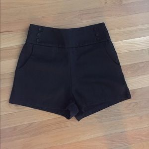 Lucca Couture Pants - Lucca Couture High Waisted Shorts