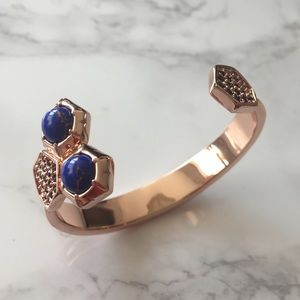 Giles & Brother rose gold bangle
