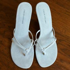 Colin Stuart Shoes - NWOT Colin Stuart Victoria's Secret Suede Sandal
