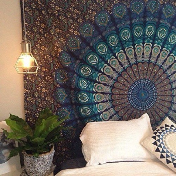 King - Cute bohemian tapestry. from Kieran's closet on