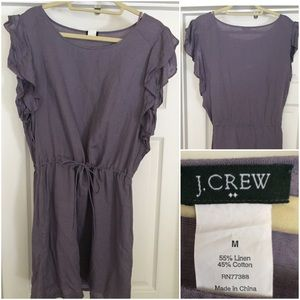 J Crew Perfect for Summer, Linen dress, worn twice