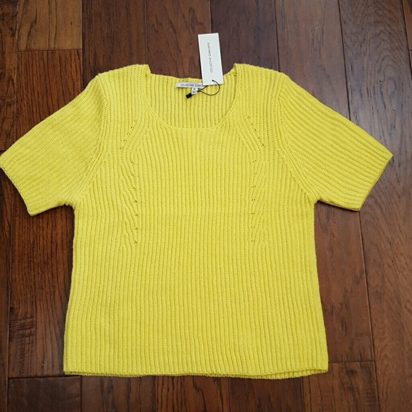 76% off Collective Concepts Sweaters - NWT highlighter yellow ...
